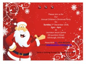 Christmas Party 2018 @ Lauriston Jesuit Centre