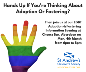 LGBT Adoption & Fostering Information Evening, Aberdeen @ Cheerz Bar