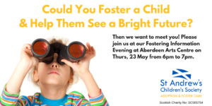 Fostering Information Evening, Aberdeen @ Aberdeen Arts Centre