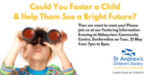Fostering Information Evening, Dunfermline @ Abbeyview Community Centre