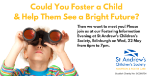 Fostering Information Evening, Edinburgh