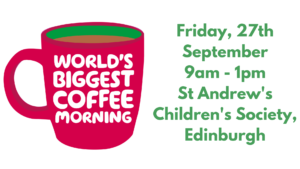 Macmillan Coffee Morning @ St Andrew's Children's Society