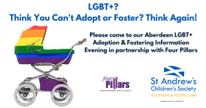 LGBT+ Adoption & Fostering Information Evening in Aberdeen @ Cheerz Bar