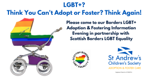 LGBT+ Adoption & Fostering Information Evening in the Borders @ Mac Arts