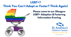 LGBT+ Adoption & Fostering Information Evening in Glasgow @ Speakeasy