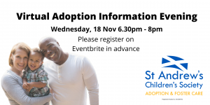 Virtual Adoption Information Evening @ Virtual Event