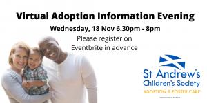Virtual Adoption Information Evening @ Virtual Event