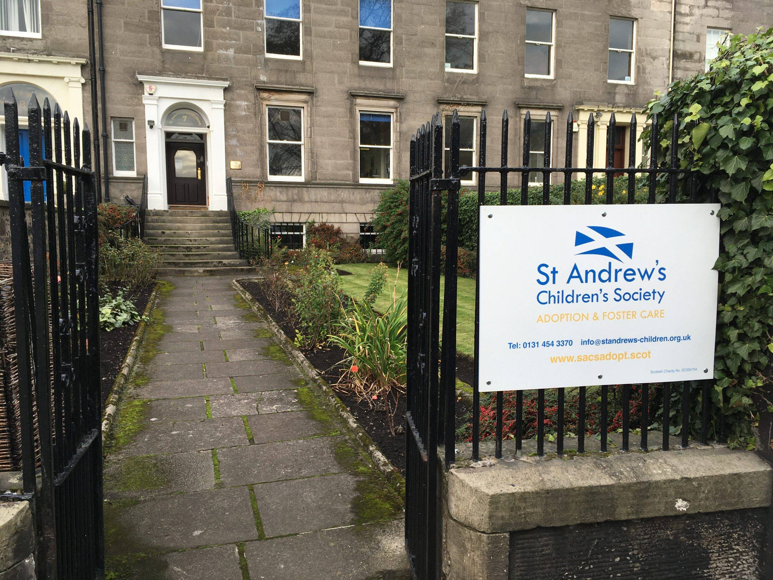 outside view of the Edinburgh office to help people contact us