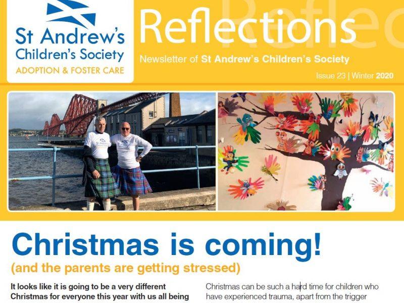 St Andrew's Children's Society Winter 2020 Newsletter